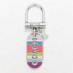Cute Coach key chain