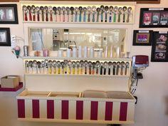 Cool Ice Cream Scoop Display