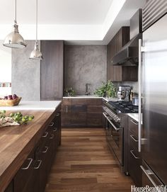 Küche Beton &Holz