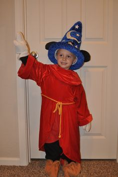 halloween disney costume mickey sorcerer fantasia wwwmydisneylovecom - Diaper Costume Halloween