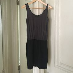 Express dress mini Worn gently but has minor damages. Pictured and price reflects Express Dresses Mini