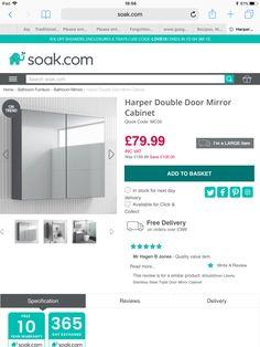 Shower Enclosure, Mirror Door, Double Doors, Bathroom, Washroom, Stall Shower, Bathrooms, Bath