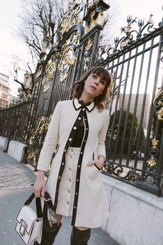 French Girl Style #fashion #paris