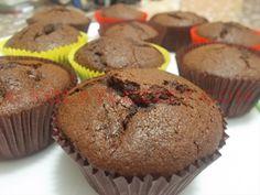 Cikolatali-Kakaolu-Uzumlu-Muffin Muffins, Cupcake, Breakfast, Desserts, Food, Drink, Morning Coffee, Tailgate Desserts, Muffin