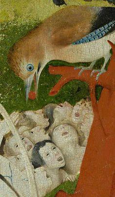 ~ between 'The Garden of Earthly Delights', by Hieronymus Bosch (Hertogenbosch Hasburg; Jérôme or Jheronimus van Aken Bosch) Jan Van Eyck, Medieval Art, Renaissance Art, Garden Of Earthly Delights, Dutch Painters, Arte Popular, Surreal Art, Oeuvre D'art, Painting & Drawing