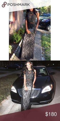 Prom dress Worn once. Dresses Prom