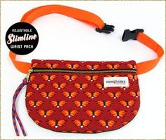 Tutorial and pattern: Slimline Waist Pack - Tutorial and pattern: Slimline Waist Pack – Sewing Source by sajelie Fanny Pack Pattern, Pouch Pattern, Purse Patterns, Sewing Patterns Free, Free Sewing, Sewing Tutorials, Free Pattern, Pattern Sewing, Waist Pouch
