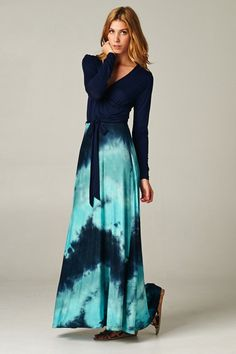 Sadie Dress in Greece Blue