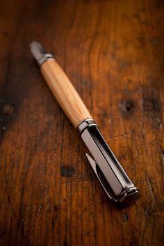 Maker's Mark® Barrel Rollerball & Fountain Pen on BourbonandBoots.com