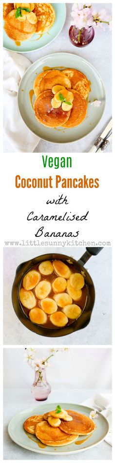 10 Most Misleading Foods That We Imagined Were Being Nutritious! Vegan Coconut Pancakes Make A Great Weekend Breakfast, And Can Be Ready In Just 25 Minutes Vegan Pancake Recipes, Best Vegan Recipes, Vegetarian Recipes Easy, Healthy Breakfast Recipes, Brunch Recipes, Beef Recipes, Dinner Recipes, Healthy Recipes, Delicious Recipes