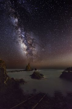 Milky Way in August
