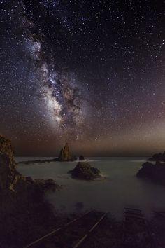 Milky Way in August