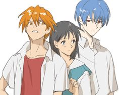 Evangelion Genderbend. Reminds me of Fruits Basket is you ask me. :p