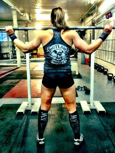 I'm not quite an outlaw crossfit girl but the clothes are awesome!