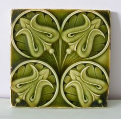 Majolica Tile, c Early 1900's