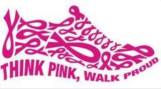 Piensa en rosa. Camina orgulloso