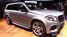 2016 Mercedes-Benz GLS-Class GLS 550 4Matic - Exterior and Interior Walk...