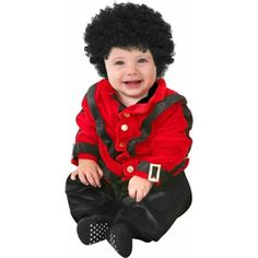 Your baby will look so adorable in this Baby Pop Star outfit. Impress all your friends and family with this years coolest baby costume, and make it a memorable