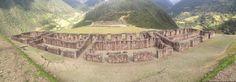 Panoramo of Rosas Patas near Vitcos, Peru