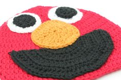 an elmo hat for grama's wee sawyer!!!