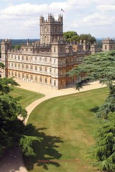 Highclere Castle Berkshire ~ Home of Downton Abbey...This is only 20 miles from where my husband was born and raised!
