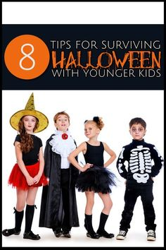 8 Tips for Surviving Halloween with Younger Kids Kids Activities and Crafts,#crafting,#kids,#activities