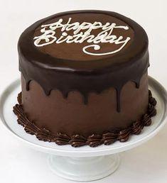 Chocolate Birthday Cake Decoration, Happy Birthday Chocolate Cake, Birthday Chocolates, Birthday Cake Decorating, Homemade Birthday Cakes, Birthday Cakes For Men, Birthday Cake For Husband, We Take The Cake, Chocolate Cream Cheese Frosting