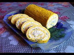Рулет из Омлета с Плавленными Сырками / Roll The Omelet / Простой Рецепт (Очень Вкусно и Быстро) - YouTube