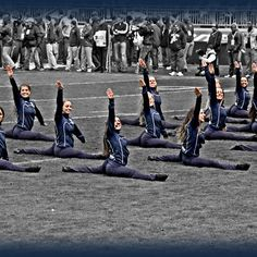 Game Day Salute, Penn State Lionettes