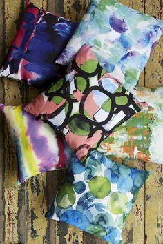 Tidal Dream Cushion by Amy Sia (free shipping worldwide)