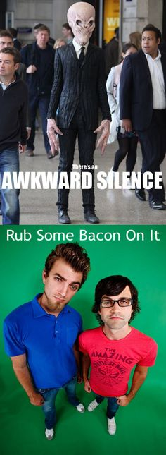 Oh Rhett and Link, I don't think they will ever not make me laugh to tears. ^_^ THIS is both of my biggest current fandoms put together. Could it get better? no, I don't think so
