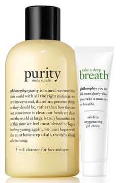 Can't get over how fabulous this duo is that cleans the skin and re-oxygenates it.