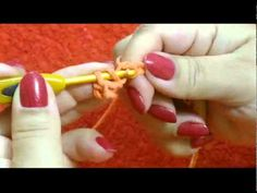 CROCHE PARA CANHOTOS - LEFT HANDED CROCHET - PONTO ALTO - YouTube