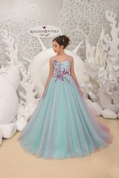 Items similar to Mint and Purple Flower Girl Dress - Birthday Wedding party Bridesmaid Holiday Mint and Purple Flower Girl Dress on Etsy Purple Flower Girls, Tulle Flower Girl, Tulle Flowers, Tulle Lace, Flower Girl Dresses, Vestidos Color Menta, Dress Size Chart Women, Bridesmaid Flowers, Birthday Dresses