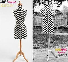 Dress form DIY - i need this...