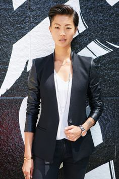 Kristen Kish.  Second woman to ever win Top Chef, model, queer Asian-American woman, all-around badass.
