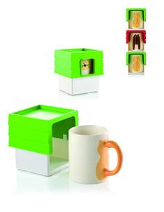 Mug storage stackable CAT