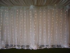 professional piping and draping (like the one featured here) can be rented from party/wedding stores.. they stay on their own and you can order the height that fits your room. WHile this is more expensive, its hassle free and will ensure you have enough/and that its clean