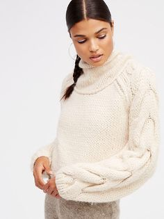 Florence Cable Pullover from Free People!