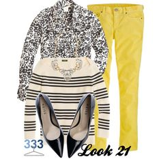 """Project 333/Phase 5/Fall 2012-Look 21"" by jcrewchick on Polyvore"