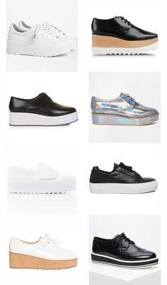De mooiste platform schoenen voor kleine vrouwen
