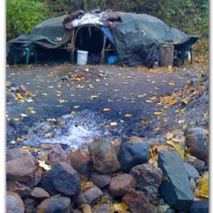 Native American Sweat Lodge - Prayer, Cleansing, Purification.