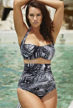 Swim Sexy The Icon Made in the Shade High Waist Bikini