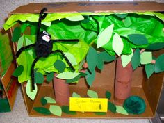 Rainforest Animal Writing Projects and Visual Aids. Dioramas, posters, sculptures!