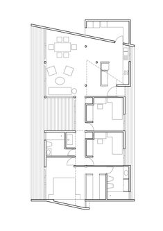 House Outer Design, Modern Small House Design, Modern Apartment Design, House Plans And More, Modern House Plans, Small House Plans, Bungalow House Plans, House Floor Plans, Sustainable Building Design