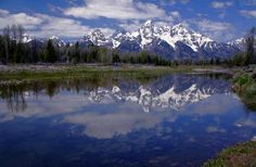 Most amazing spot to sit and have breakfast... Jackson Lake, Grand Teton National Park