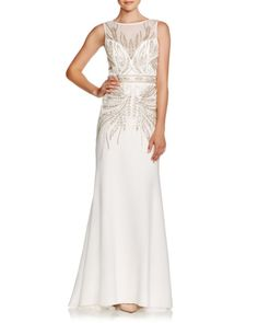 Sue Wong Sleeveless Embellished Gown | Bloomingdales's