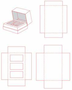 perfume box dieline - Google Search