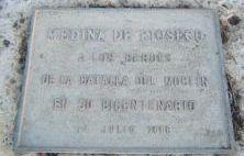 Monumento a los heroes del Moclin en Medina de Rioseco
