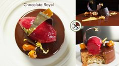 Chocolate Royal Entremet / Trianon – Bruno Albouze – THE REAL DEAL